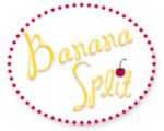 Logo for Banana Split brand childrens clothing