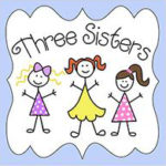 Logo for Three Sisters brand childrens clothing